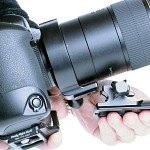 Attach RRS lens foot.