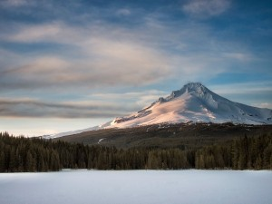 Trillium Lake by Matt Kloskowski