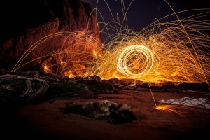 Steel wool photography by Jim Weise.