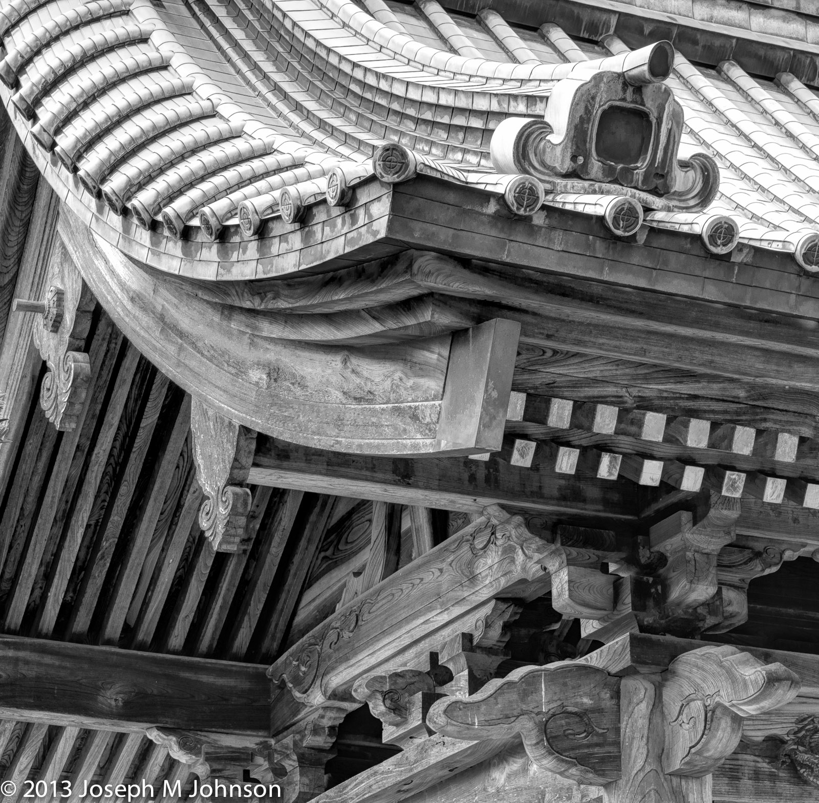 Temple woodwork at its best
