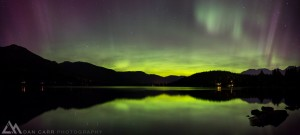 aurora borealis, light