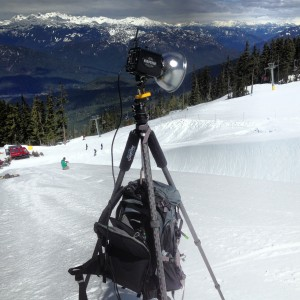 Tripod, flash, slopes