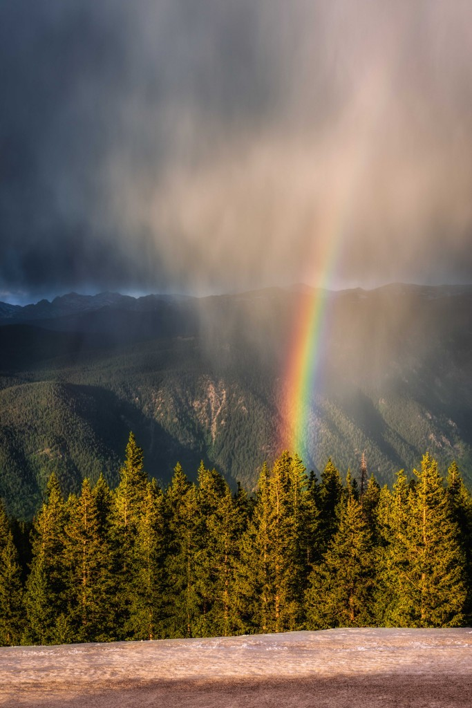 """Pot of Gold in Aspen"" by Mark Gvazdinskas"