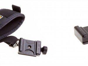 LEFT: B2-FAB-F on BLACKRAPID® Strap   |   RIGHT: B2-FAB-F
