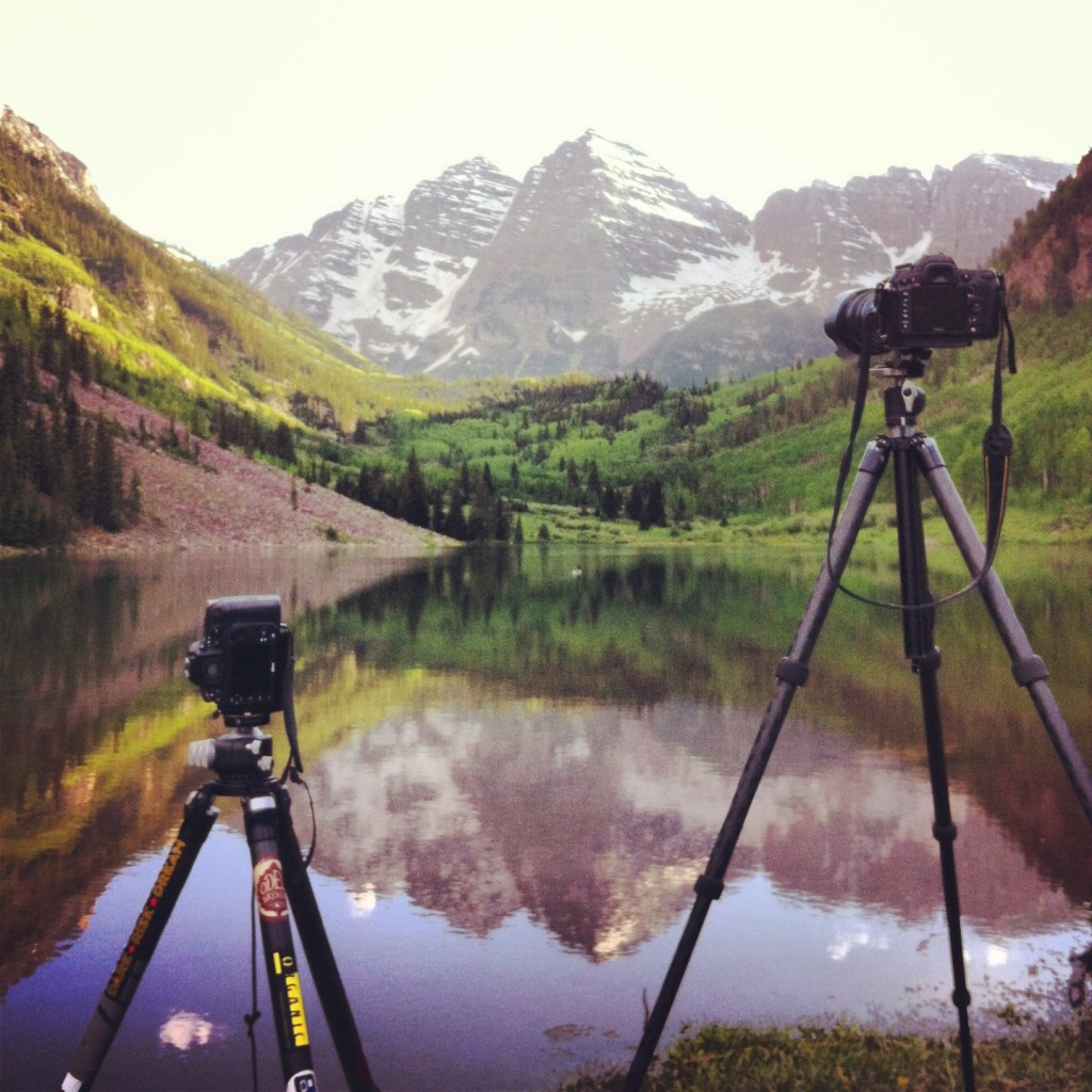Behind the Scenes at Maroon Bells