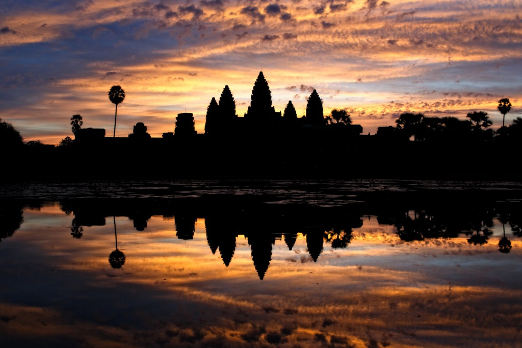 Angkor Wat Sunrise by Nicole S. Young