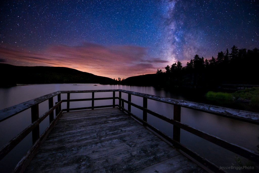 Starry Skies over Long Pond