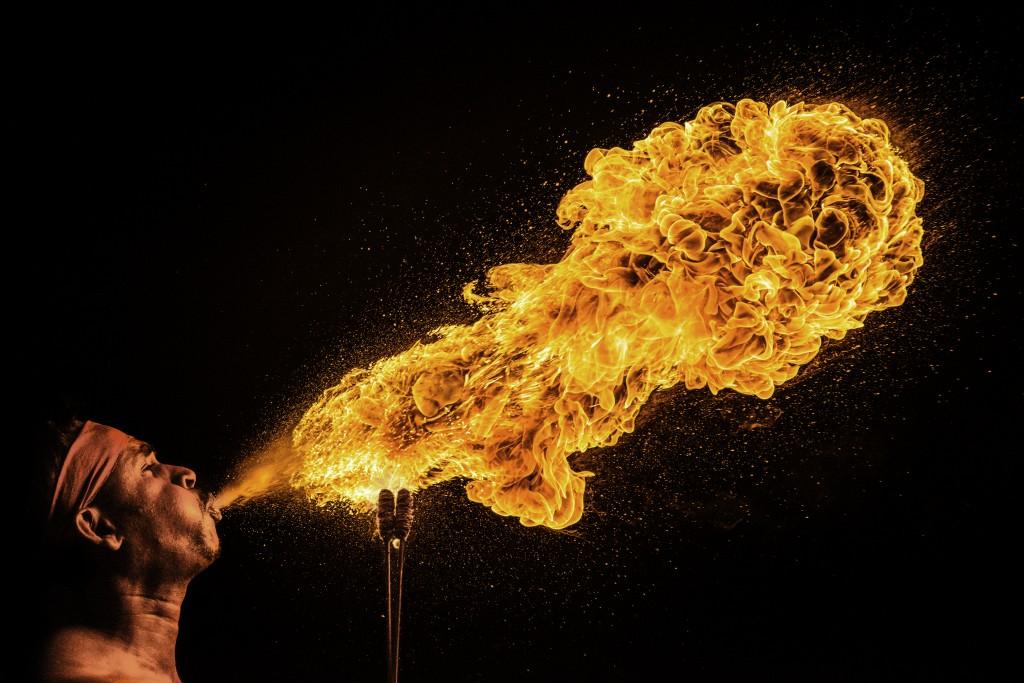 """Birth. Spirit. Flame."" by Jonathan Khee"