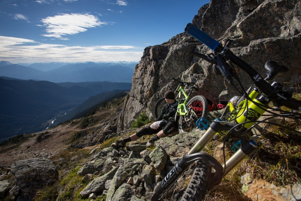 Whistler Blackcomb Bike Park, Whistler, British Columbia, Canada. Photo: Dan Carr