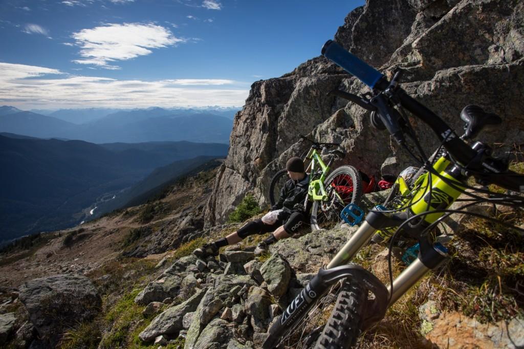 Whistler Blackcomb Bike Park, Whistler, British Columbia, Canada. Photo: Dan Carr