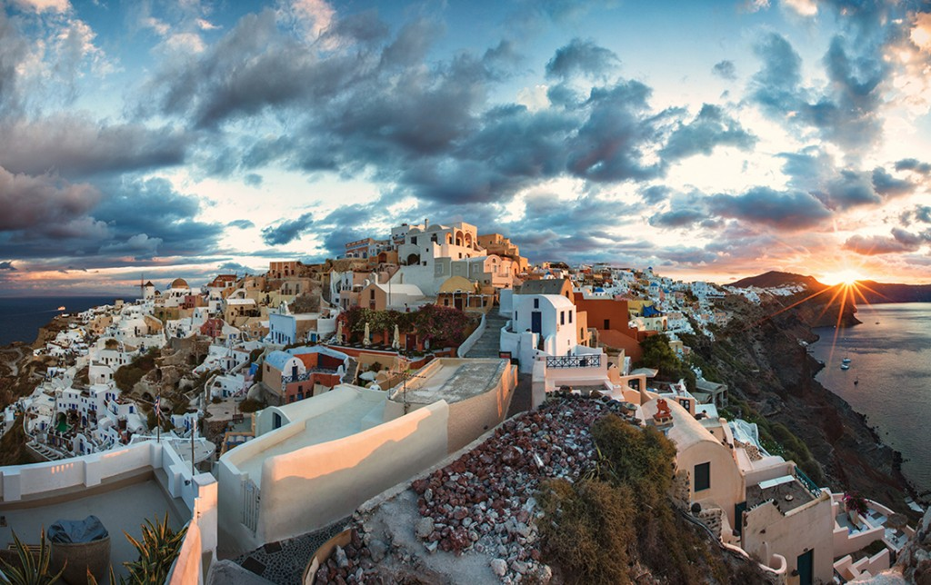 """Santorini Sunrise"" by Scott Stulberg"