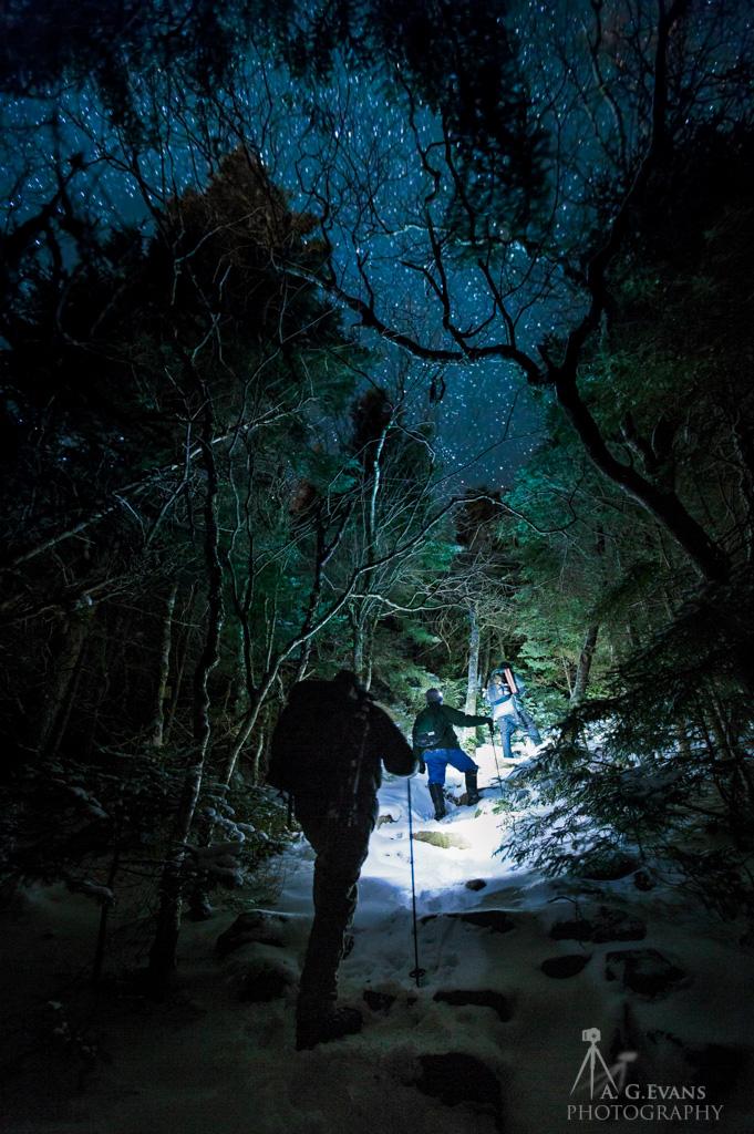 """""""Hiking Up"""" by Garrett Evans"""