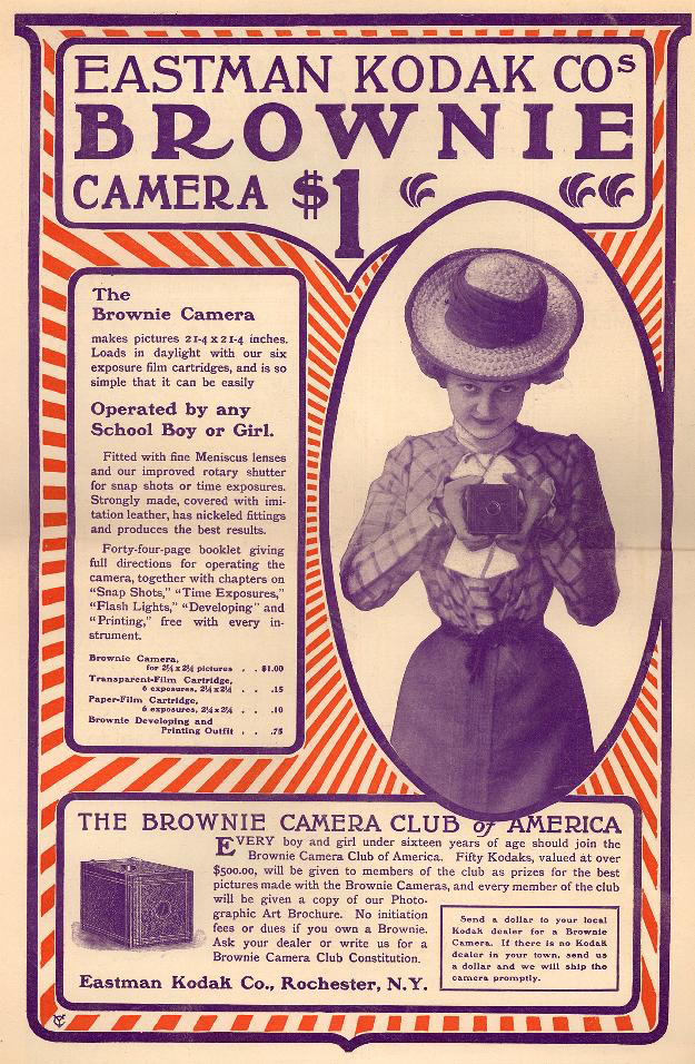 Brownie ad courtesy of Duke University Library