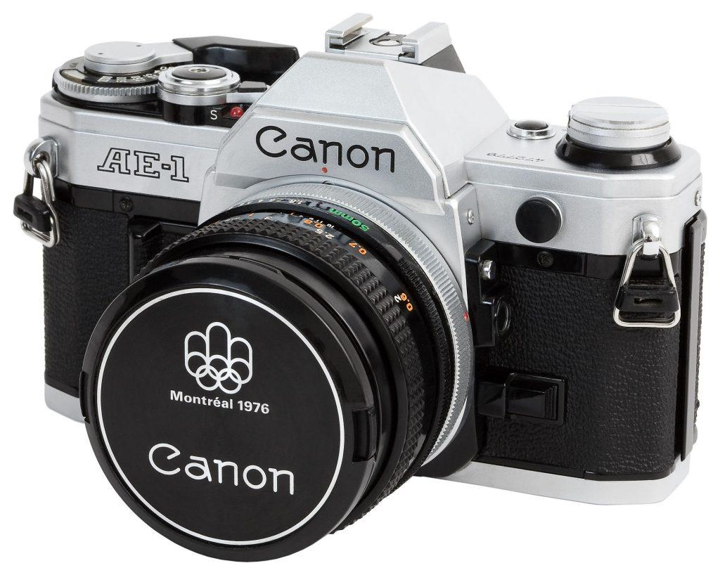 Canon AE-1 courtesy wikipedia