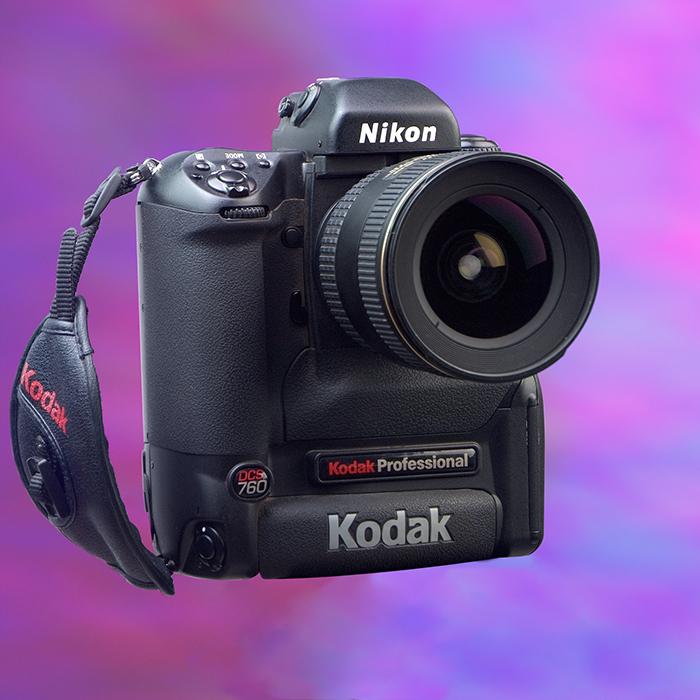Kevin Ames Kodak DCS-760