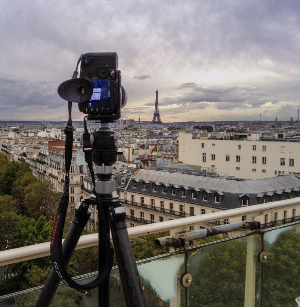 Eiffel Tower BTS by Kevin Ames