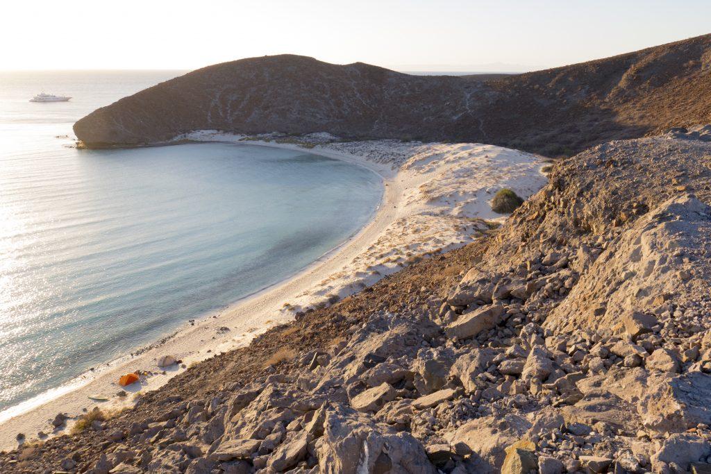 Baja, Balandra Bay, campsite-1