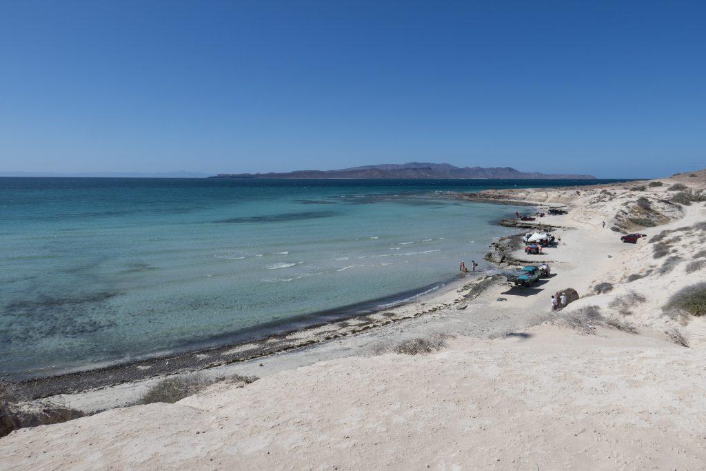 Baja, beach camping-2