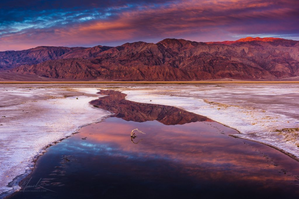Salt Pan, Death Valley National Park, California
