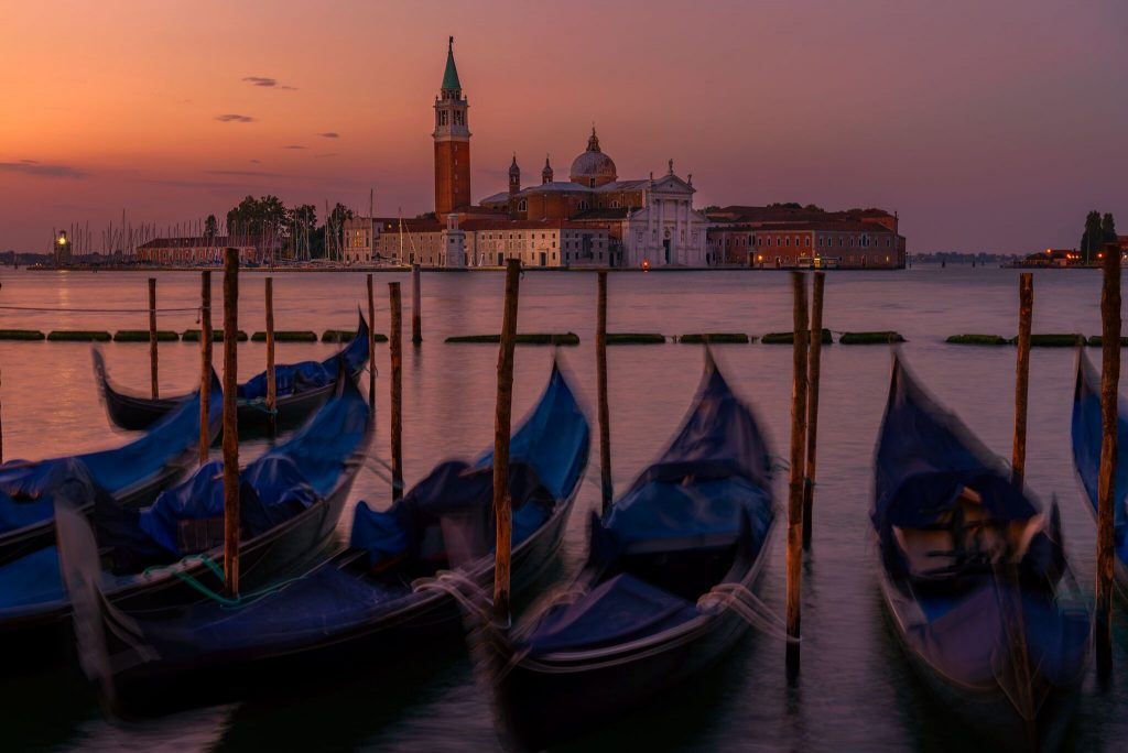 Good Morning Gondolas (Venice, Italy)