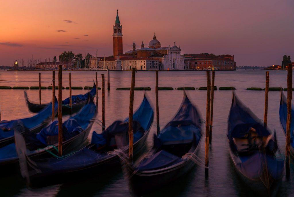 Good Morning Gondolas (Venice, Italy)